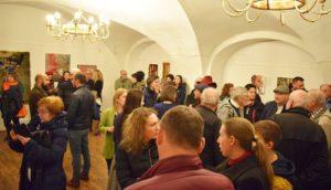 """Peste 300 de persoane prezente la vernisajul """"Sens și sensibilitate""""desfășurat la Muzeului Național Brukenthal"""