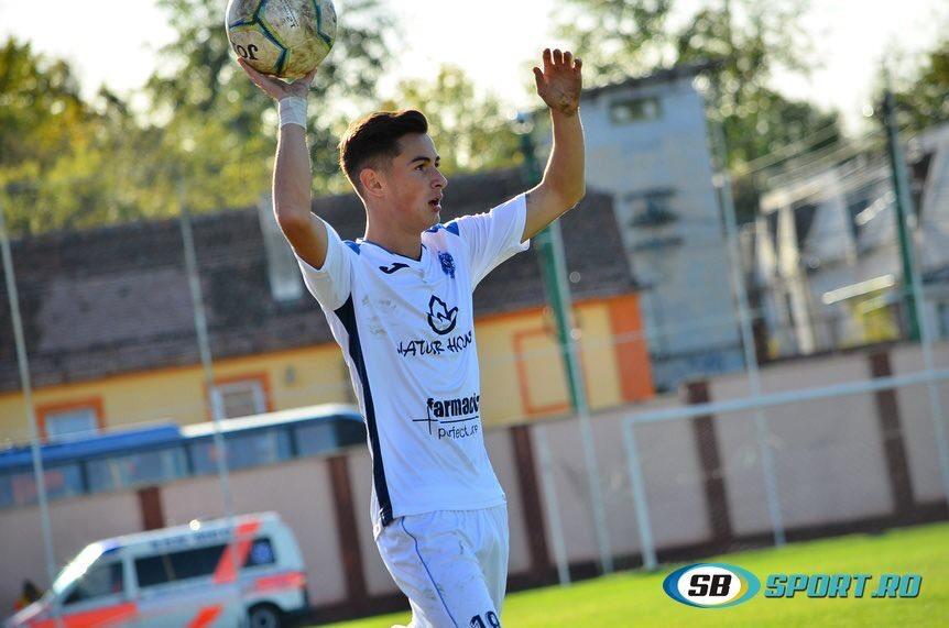 Andrei Stanciu, jucătorul echipei Viitorul Șelimbăr: fotbalul, un sport în care mă simt liber