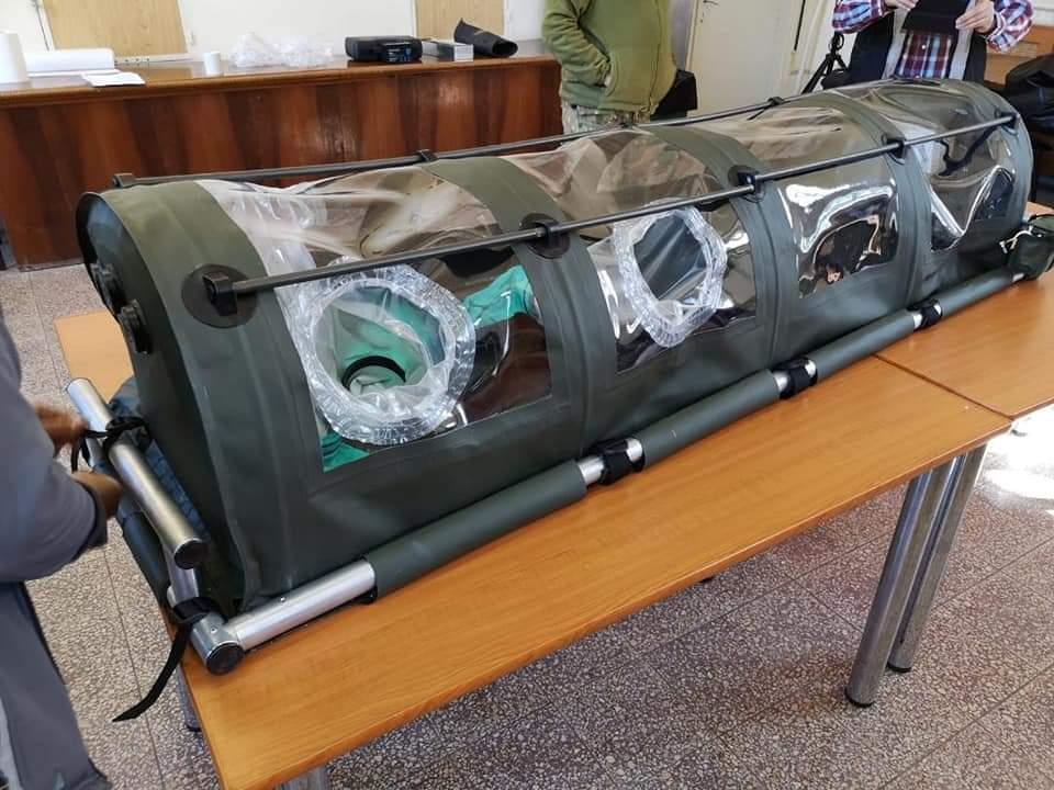 Cercetătorii militari au realizat un prototip al unei izolete românești