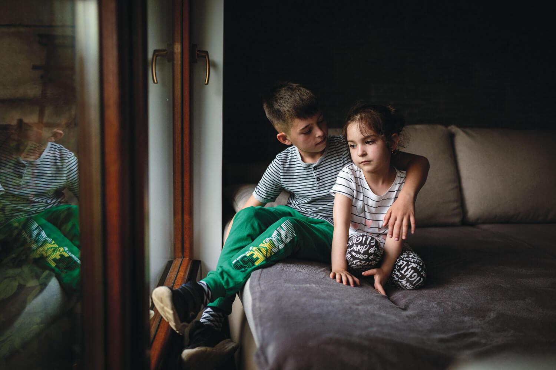 Patric Kolosvari, unul dintre copiii sibieni acărui inimă a fost operată pro bono