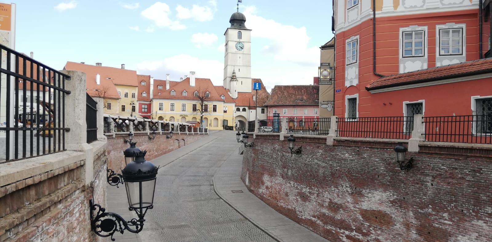 Sibiu: 1258 persoane izolate și 519 se află în carantină