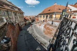 FOTO | Sibiul, mai gol și trist ca niciodată