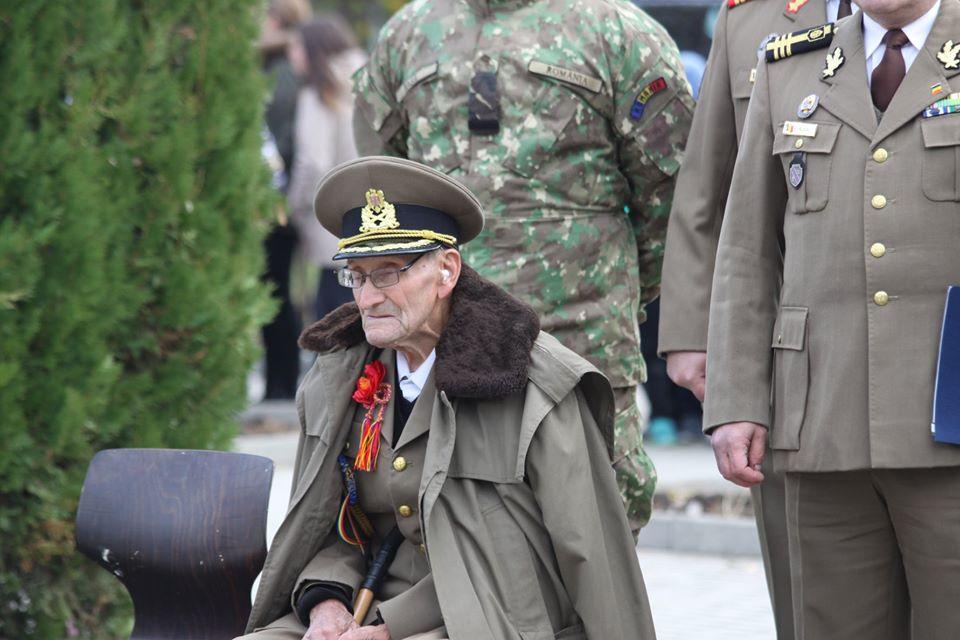 Foto | Mihai Moise, veteranul de război de pe Valea Hârtibaciului