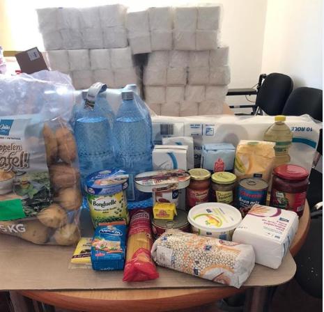 Foto | Peste 50 de avrigeni au primit alimente de la Fundația Ion Țiriac
