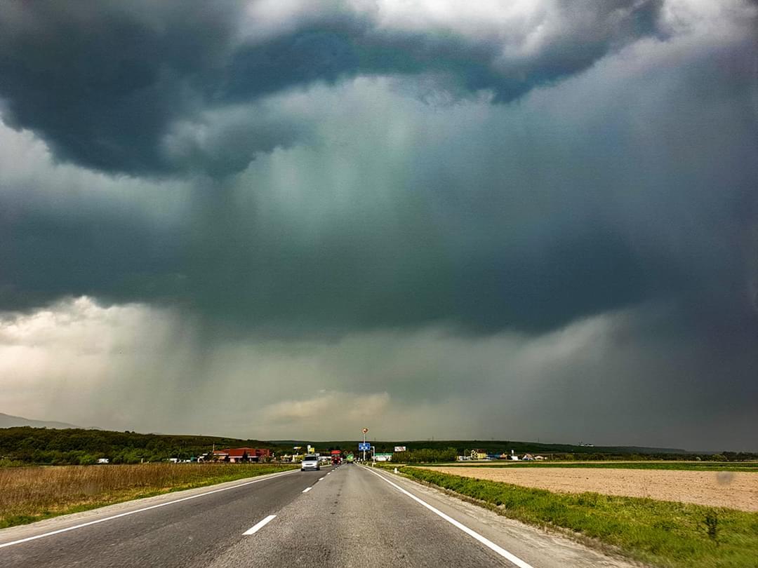 Cod galben de vreme severă în județul Sibiu