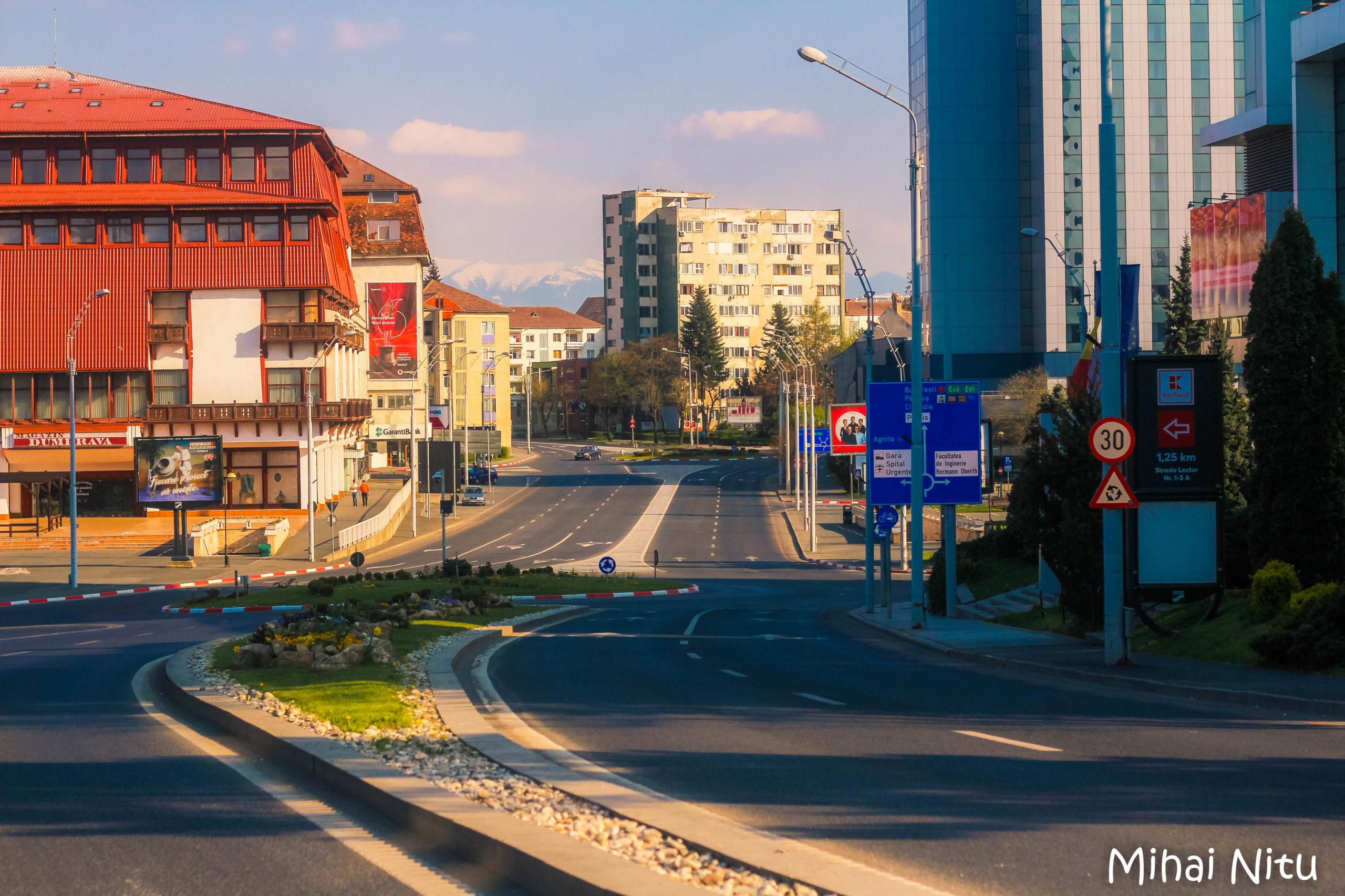 Foto-reportaj | O altă față a Sibiului sau și oraşele plâng câteodată