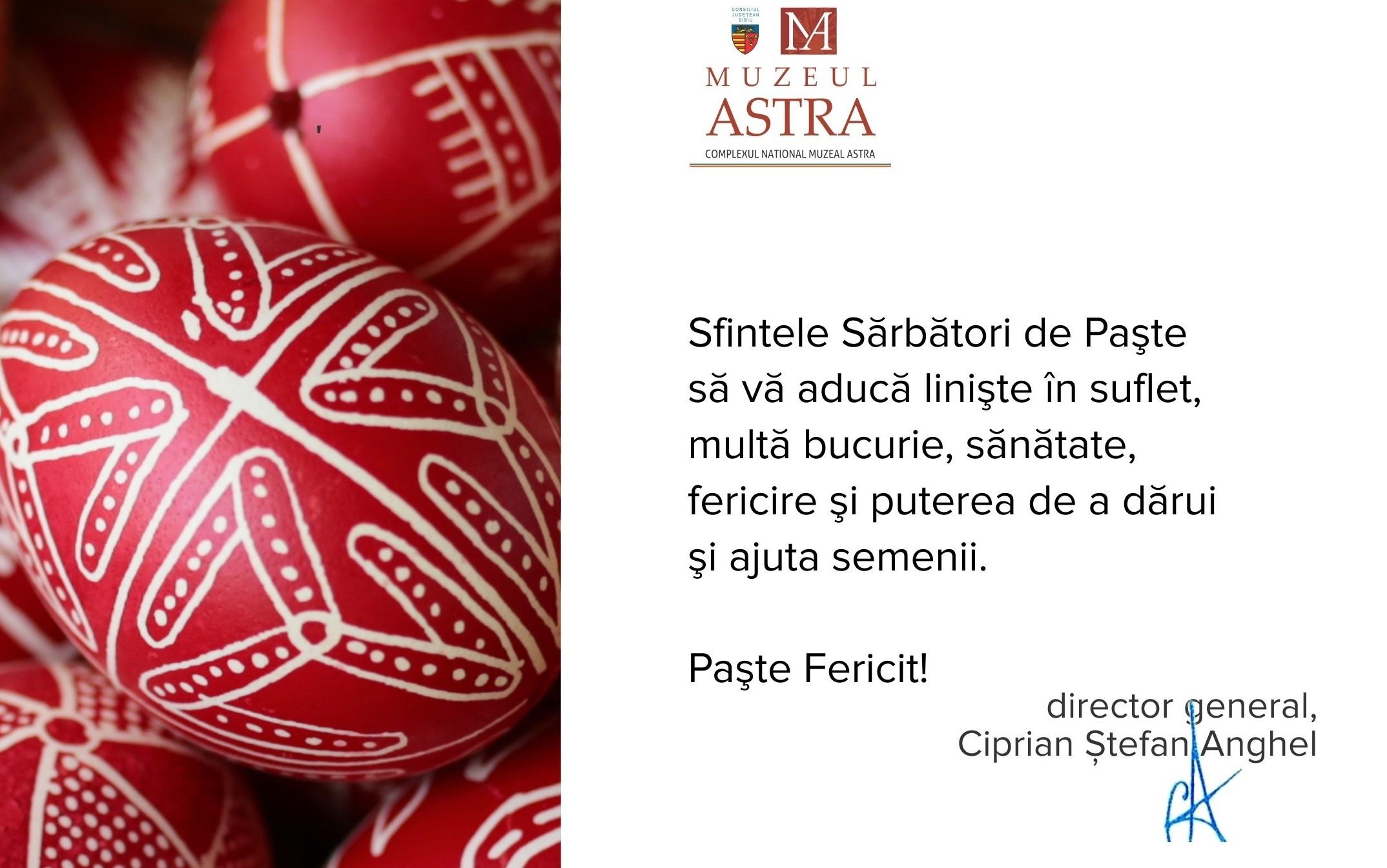 Paște Fericit!    Muzeul ASTRA