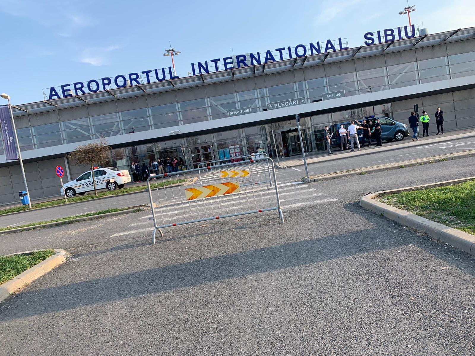 FOTO | Decolare cu eșec de pe Aeroportul Sibiu, pentru nouă suceveni