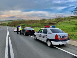 FOTO | Filtrele de poliţie au împânzit Sibiul de 1 mai