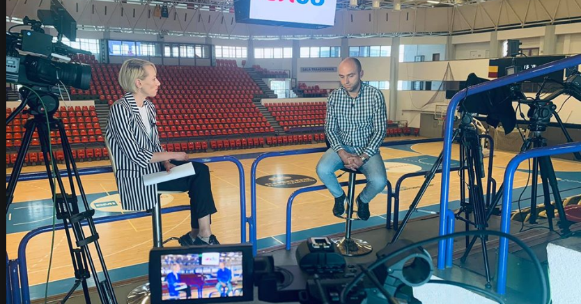 Alexandru Hanea, managerul ANDU, intervievat de BC CSU Sibiu