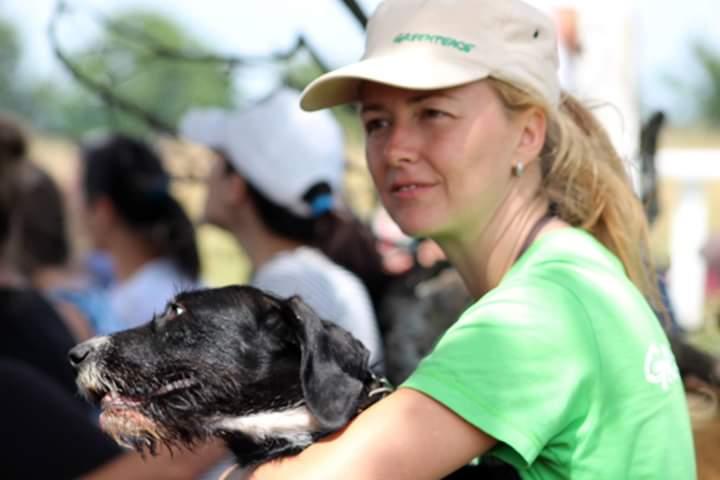 Andreea Roseti, președintele Animal Life, își donează ziua de naștere pentru animale