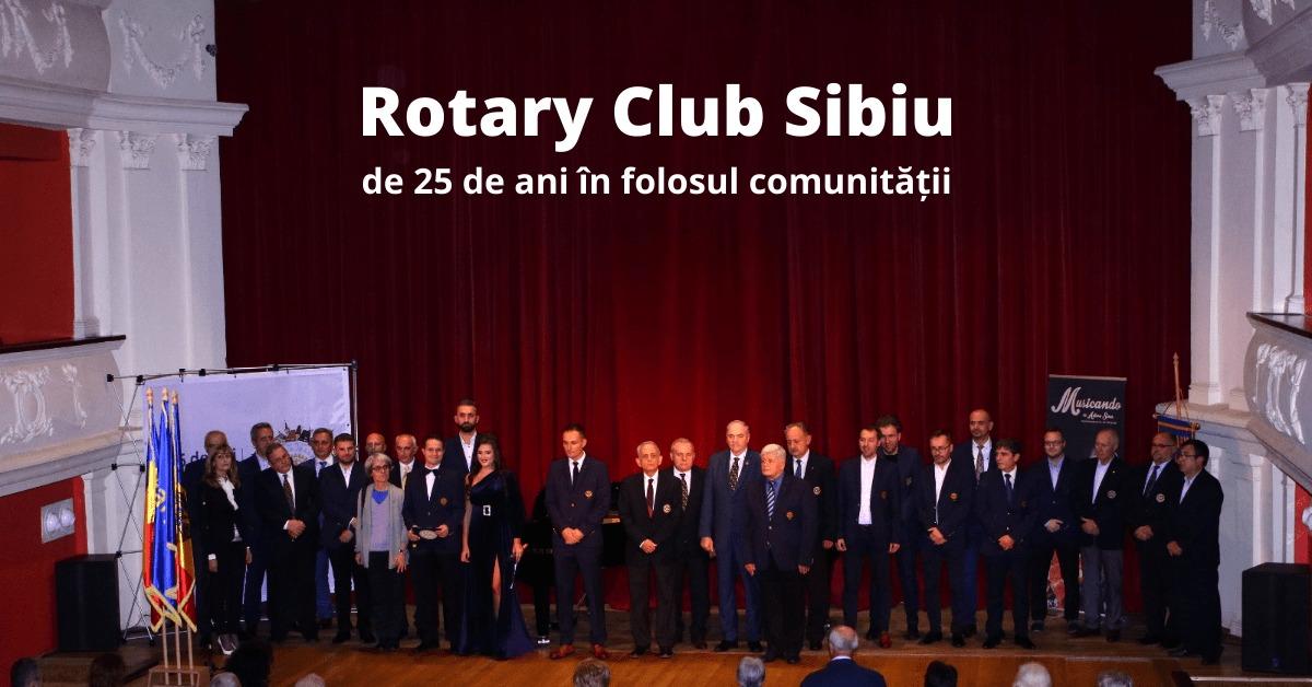 Ziua Porților Deschise la Rotary Club Sibiu la aniversarea celor 25 de ani