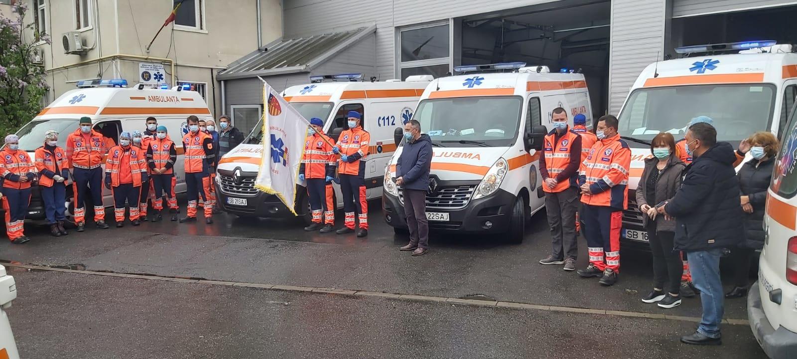 VIDEO | Moment de reculegere la SAJ Sibiu pentru ambulanțierul sucevean
