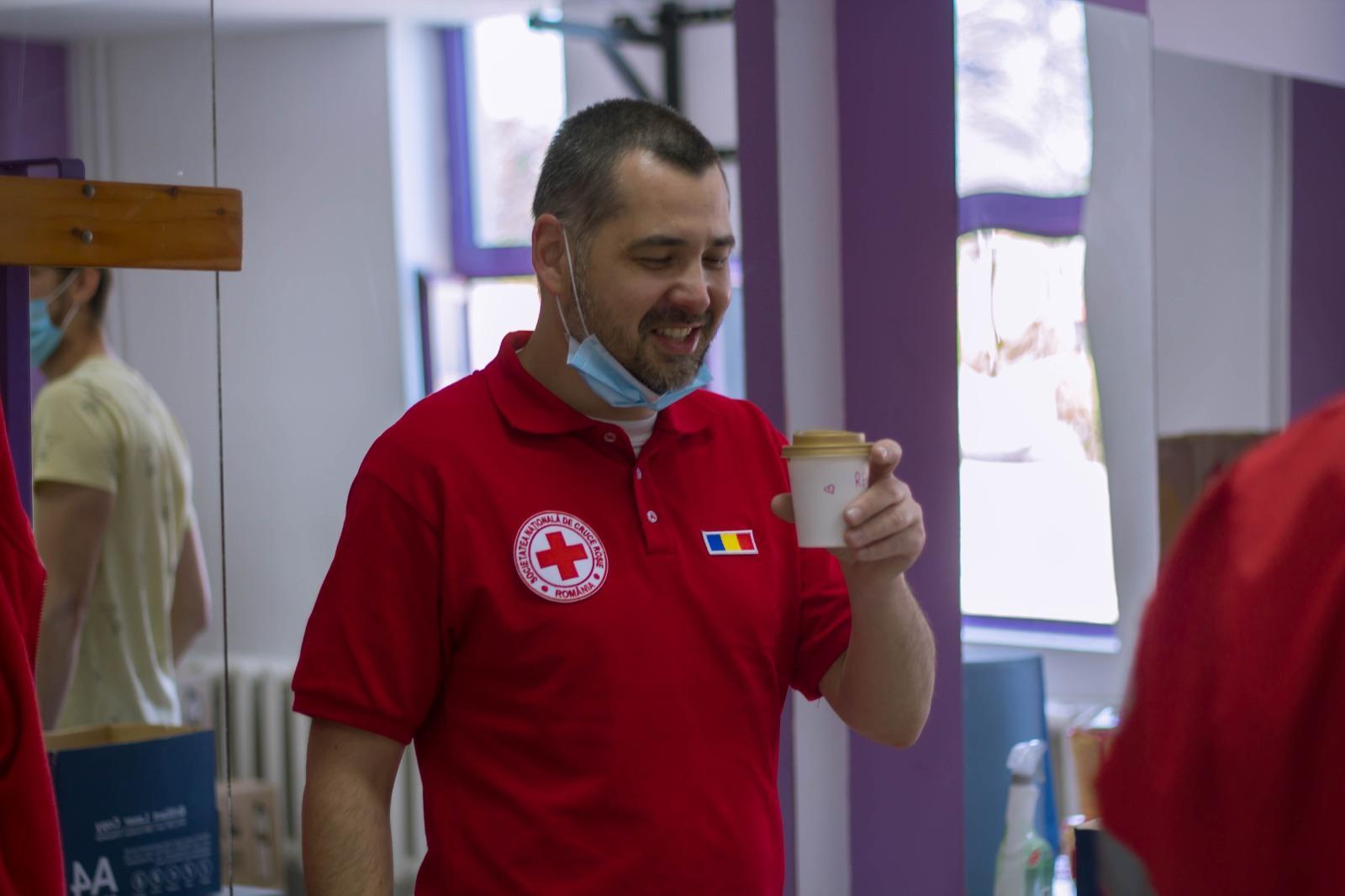 La mulți ani, Răzvan Biriș- directorul Crucii Roșii Filiala Sibiu!