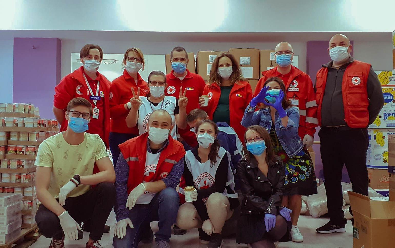 Scopul Crucii Roşii Filiala Sibiu este ajutorarea persoanelor aflate în situaţii vulnerabile