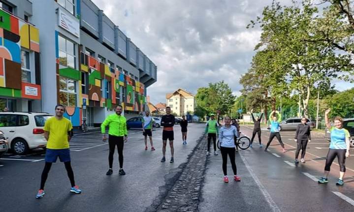 Clubul Sportiv Comunitar a dat startul înscrierii la antrenamente pentru Maratonul Sibiului