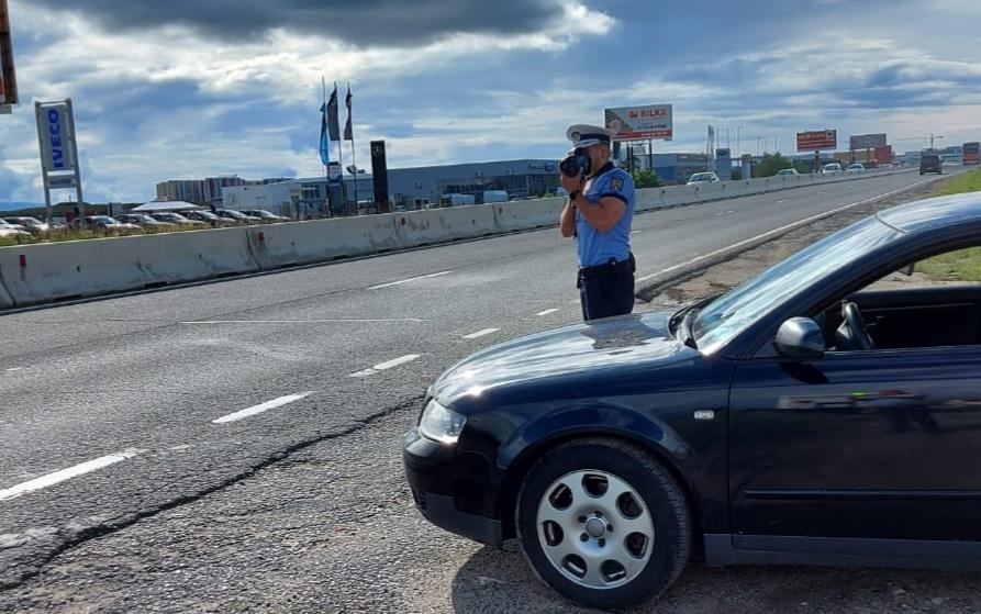 35 de abateri în trafic într-o singură zi sancționate de polițiștii sibieni