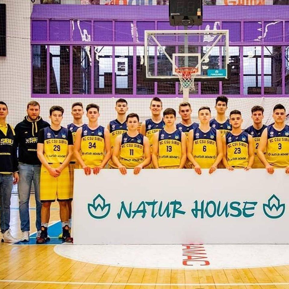 BC CSU Sibiu s-a califical la Turneul Final U18 masculin
