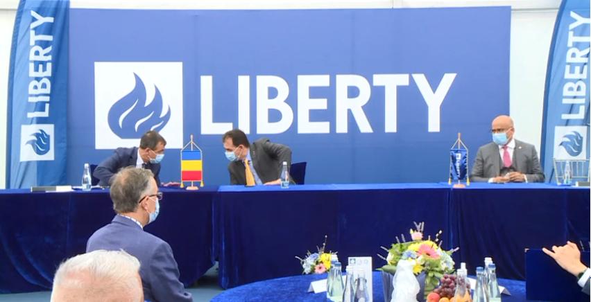 """Romgaz şi Liberty Galaţi au semnat un memorandum de înţelegere pentru dezvoltarea unor proiecte comune de tip """"greenfield"""""""