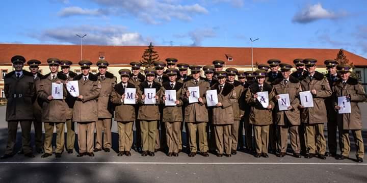 100 de ani de învățământ militar la Sibiu- La mulți ani, AFT!