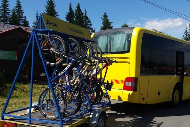 Tursib reia transportul bicicletelor la Păltiniş