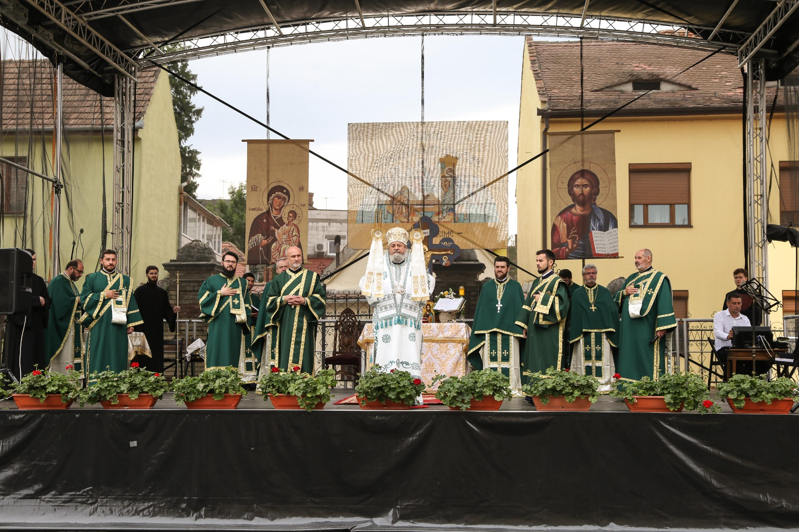 Praznicul Rusaliilor a fost sărbătorit la Sibiu