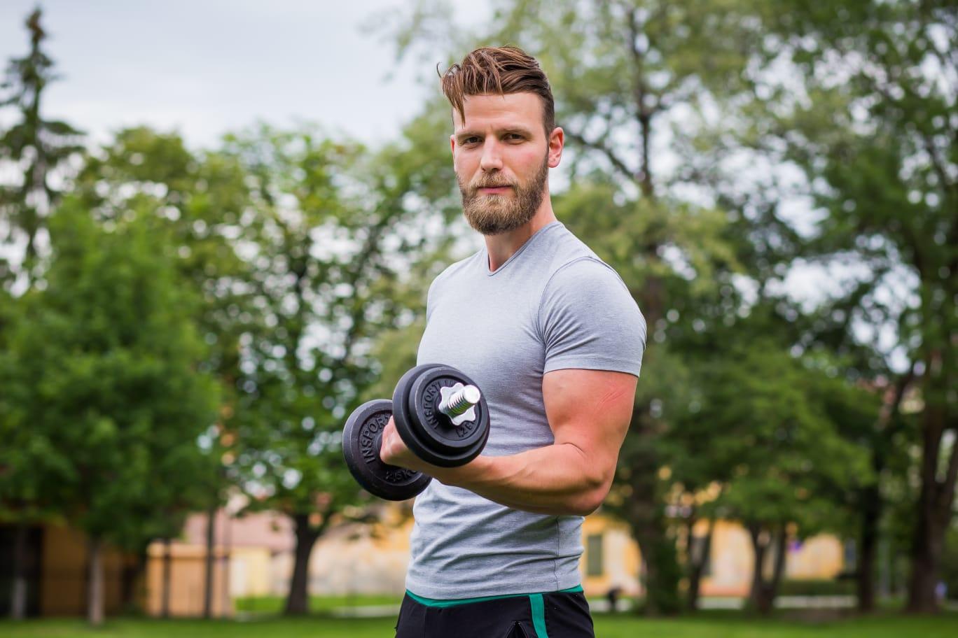 Victor Diaconescu, antrenor personal: Fitness-ul a devenit o pasiune și nu am mai reușit să mă dezlipesc de el