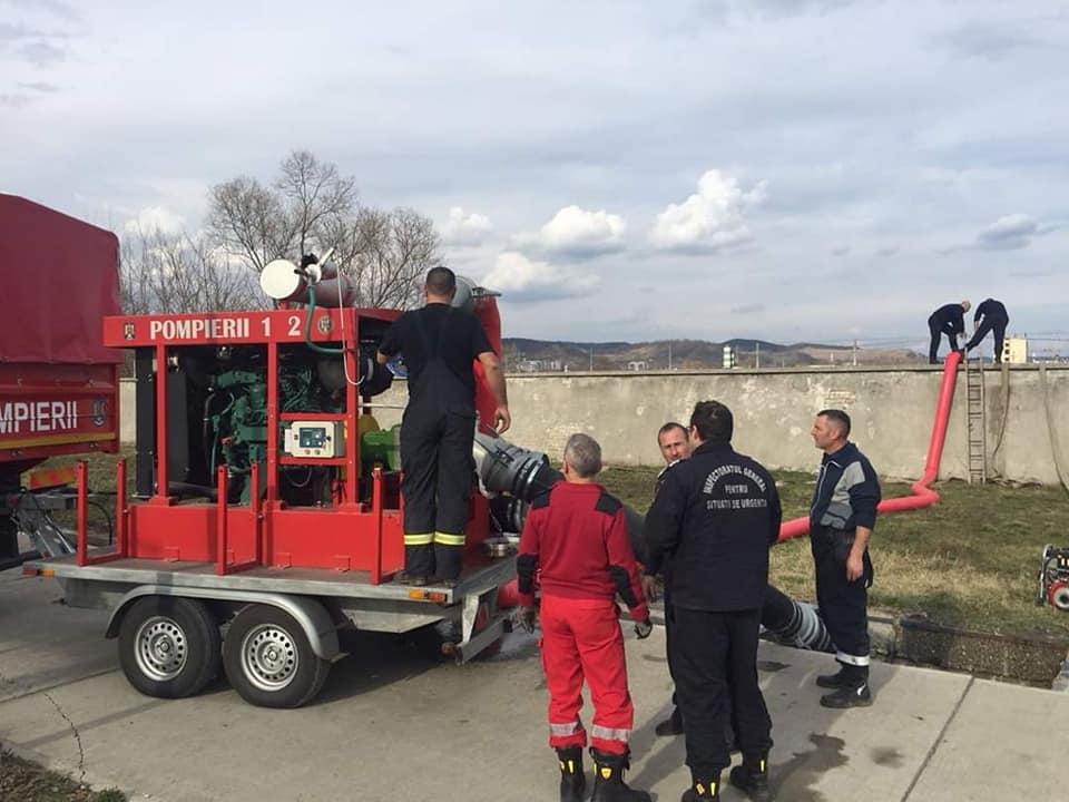 ISU Sibiu: Județul nostru se află sub incidențacodului portocaliude instabilitate atmosferică accentuată și inundații