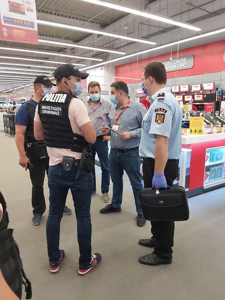 FOTO - Weekend plin de controale la agenții economici din Sibiu