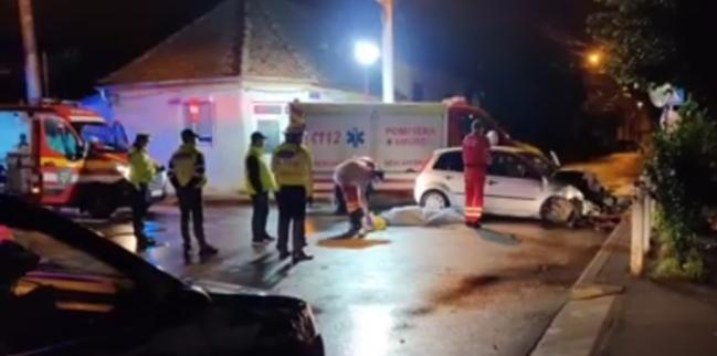 Accident mortal în Sibiu pe fondul vitezei neadaptate în condiții de carosabil umed