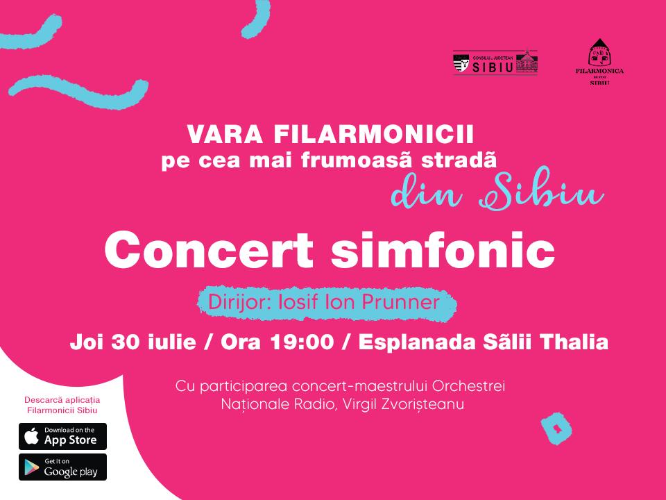 """Filarmonica Sibiu închide Stagiunea simfonică 2019-2020, """"en fanfare"""", cu doi invitați de marcă"""