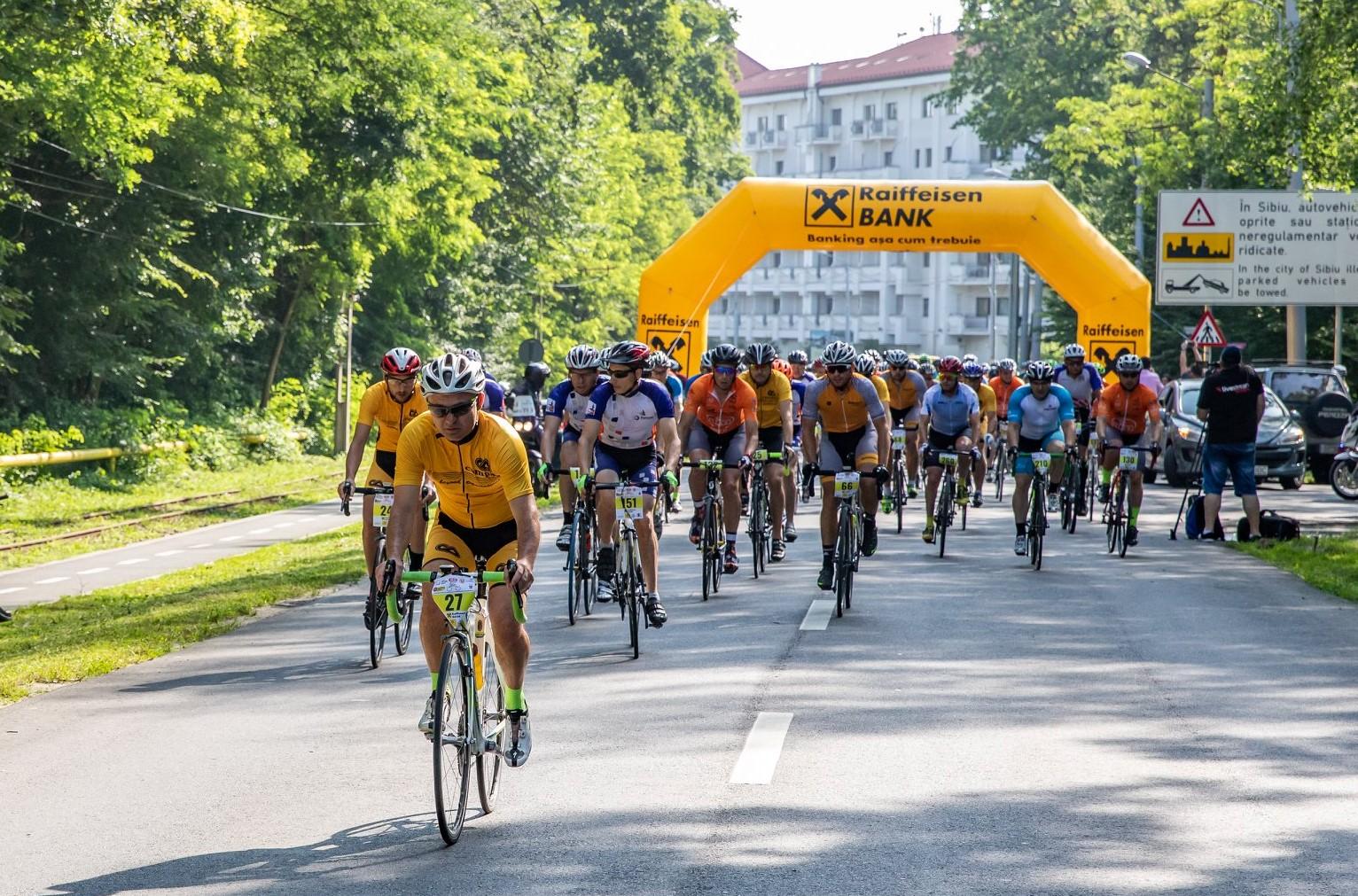 Cursa Sponsorilor (Turul Ciclist al Sibiului) restricționează traficul