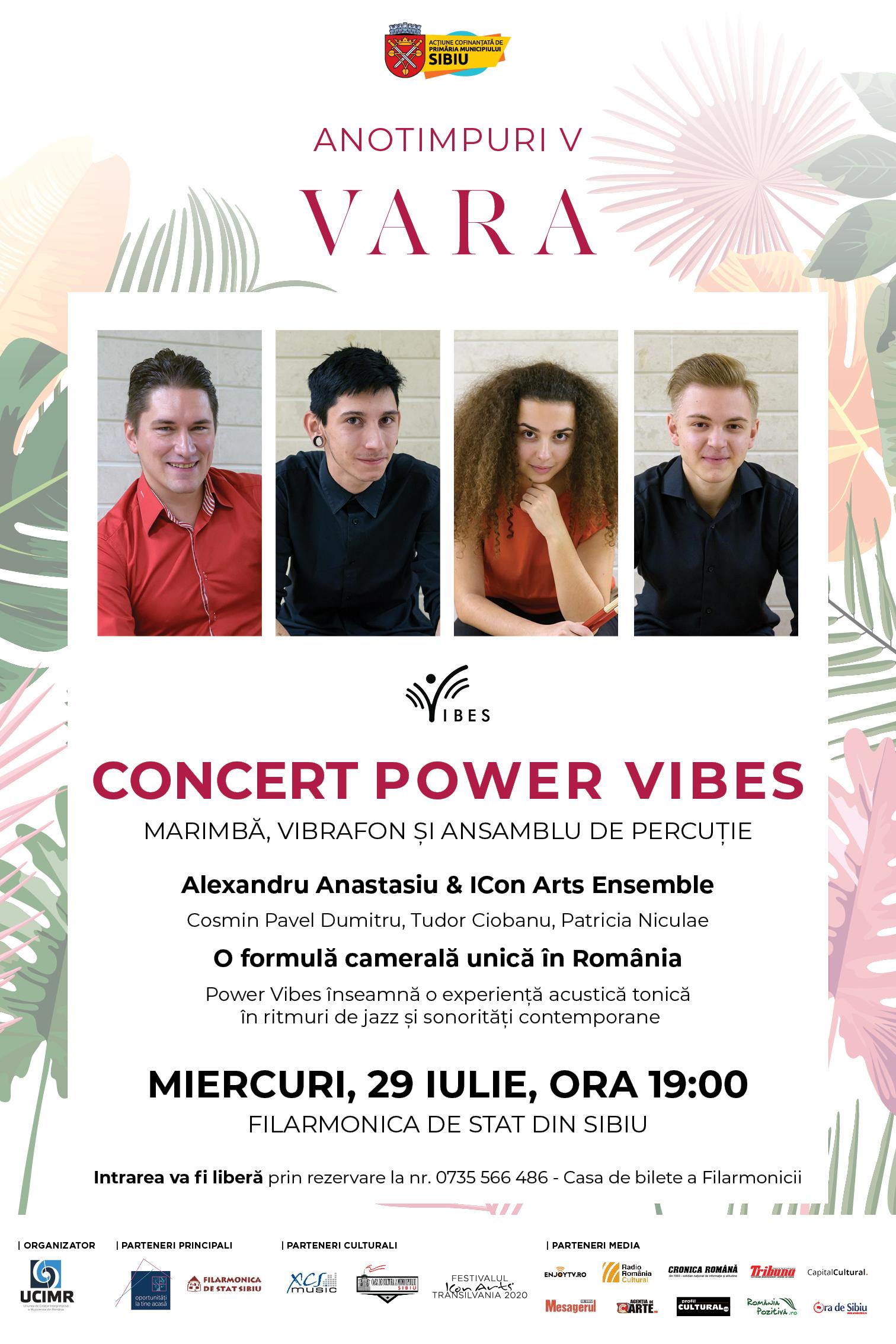 Alexandru Anastasiu & ICon Arts Ensemble concertează pe Esplanada Filarmonicii Sălii Thalia