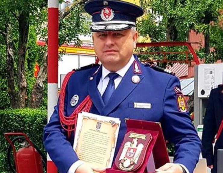 Colonelul Laurențiu- Cosmin Balcu (fostul șef al ISU Sibiu): Urmează-ți visul în fiecare zi a vieții tale