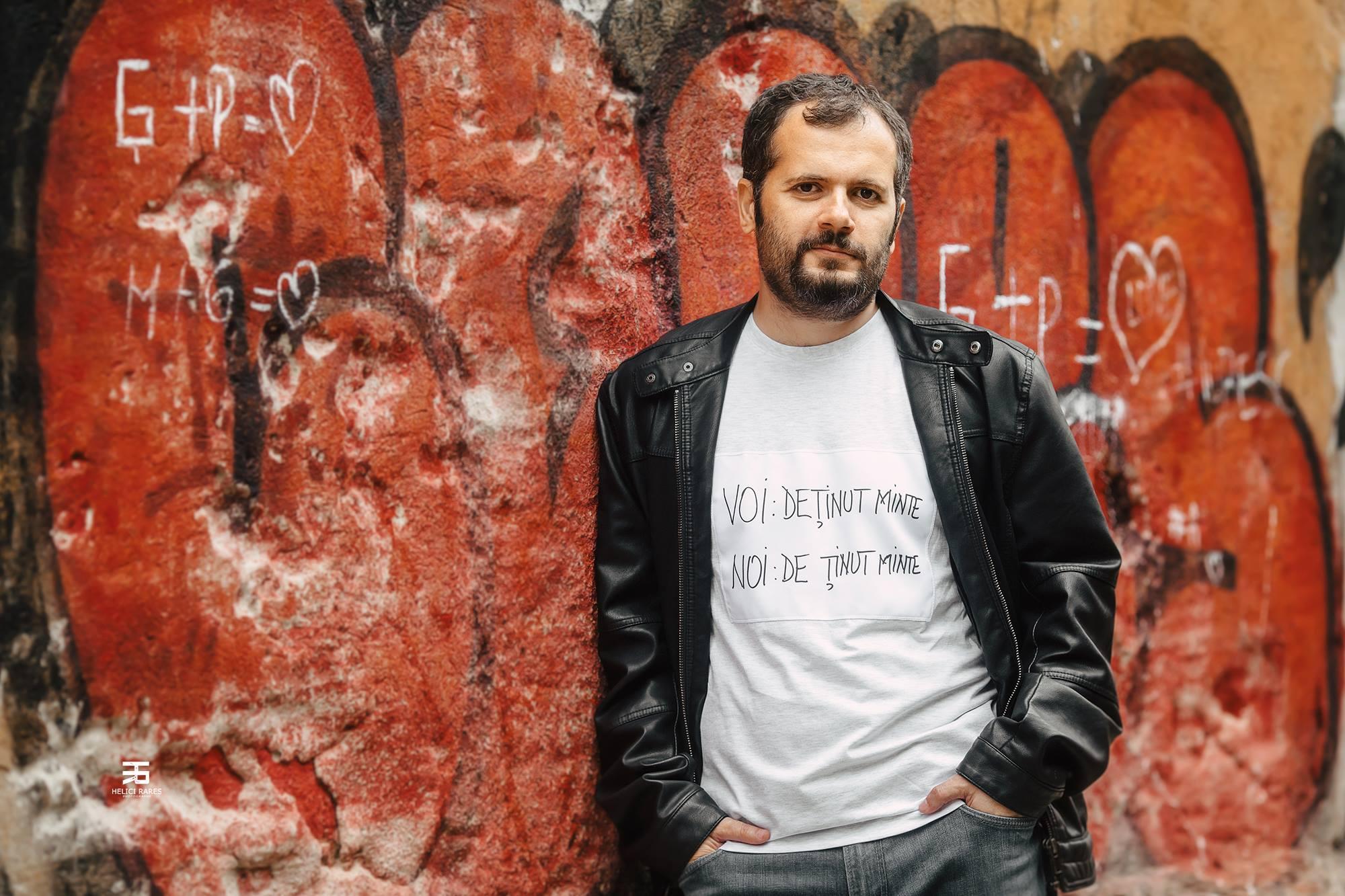 Scriitorul Radu Vancu și percuționistul Andrei Marcovici vor îmbina muzica și poezia pe Esplanada Filarmonicii