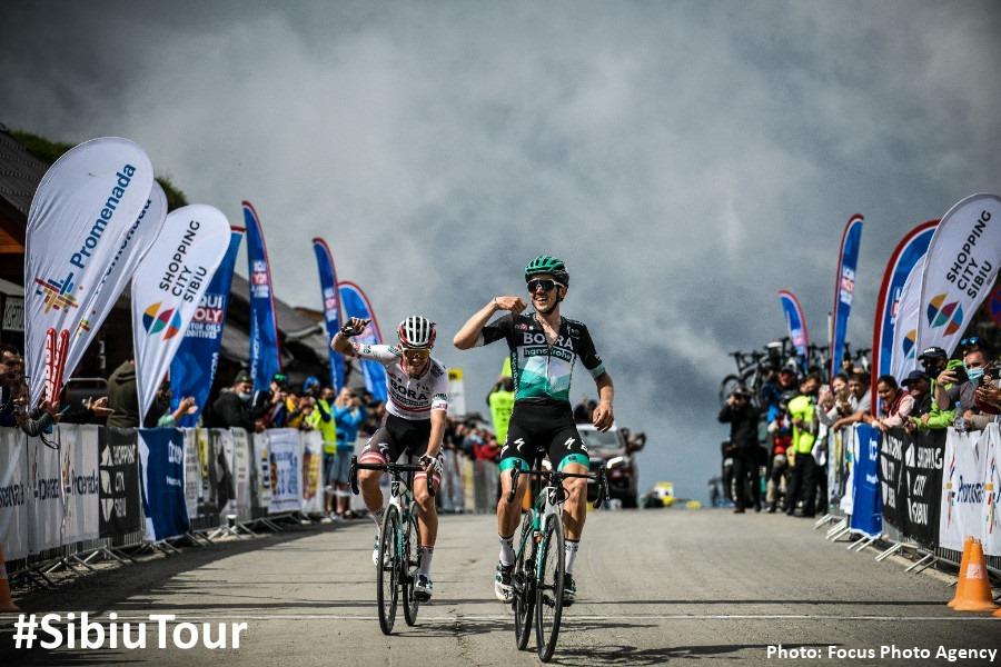 Echipa de World Tour germană Bora Hansgrohe a dominat Etapa-Regină a Turului Ciclist al Sibiului