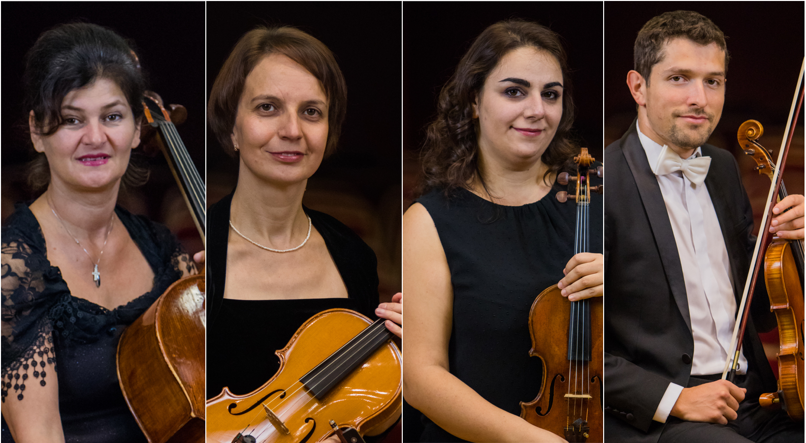 Cvartetul Allegria: muzica pop, rock și clasică împreună pe Esplanada Sălii Thalia