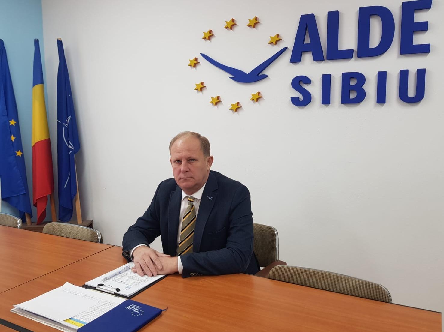 ALDE SIBIU: Starea de alertă și COVID, unelte de manipulare guvernamentală