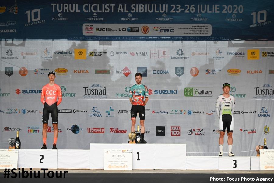 Etapa Prolog a Turului Ciclist al Sibiului 2020 a avut un rezultat surpriză