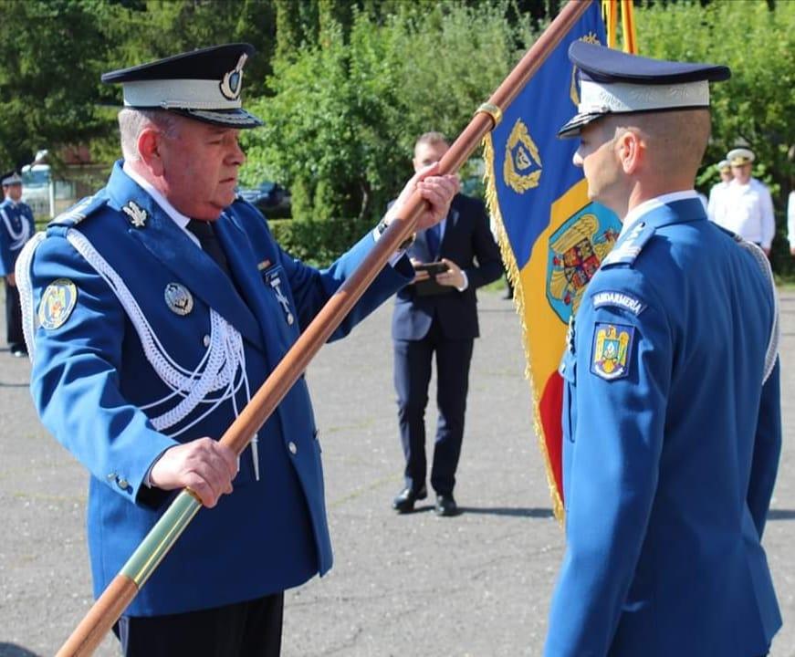 Predarea ștafetei la Jandarmeria Sibiu- pleacă Dogaru, vine Gândilă
