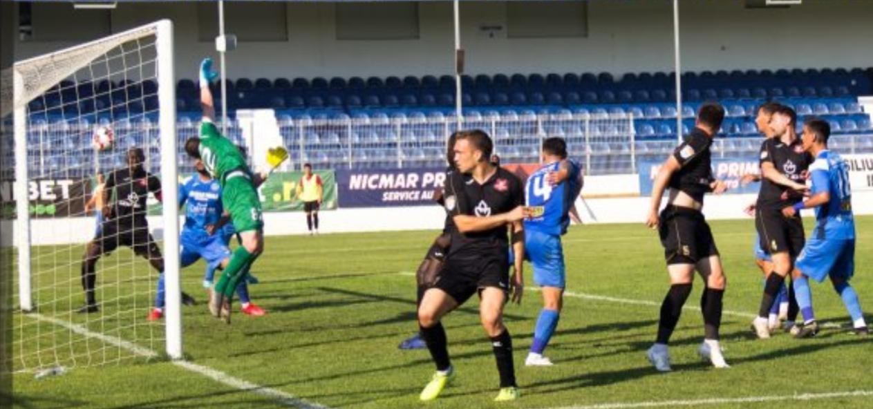 A.F.C.Hermannstadt a reușit cea de-a treia victorie în deplasare