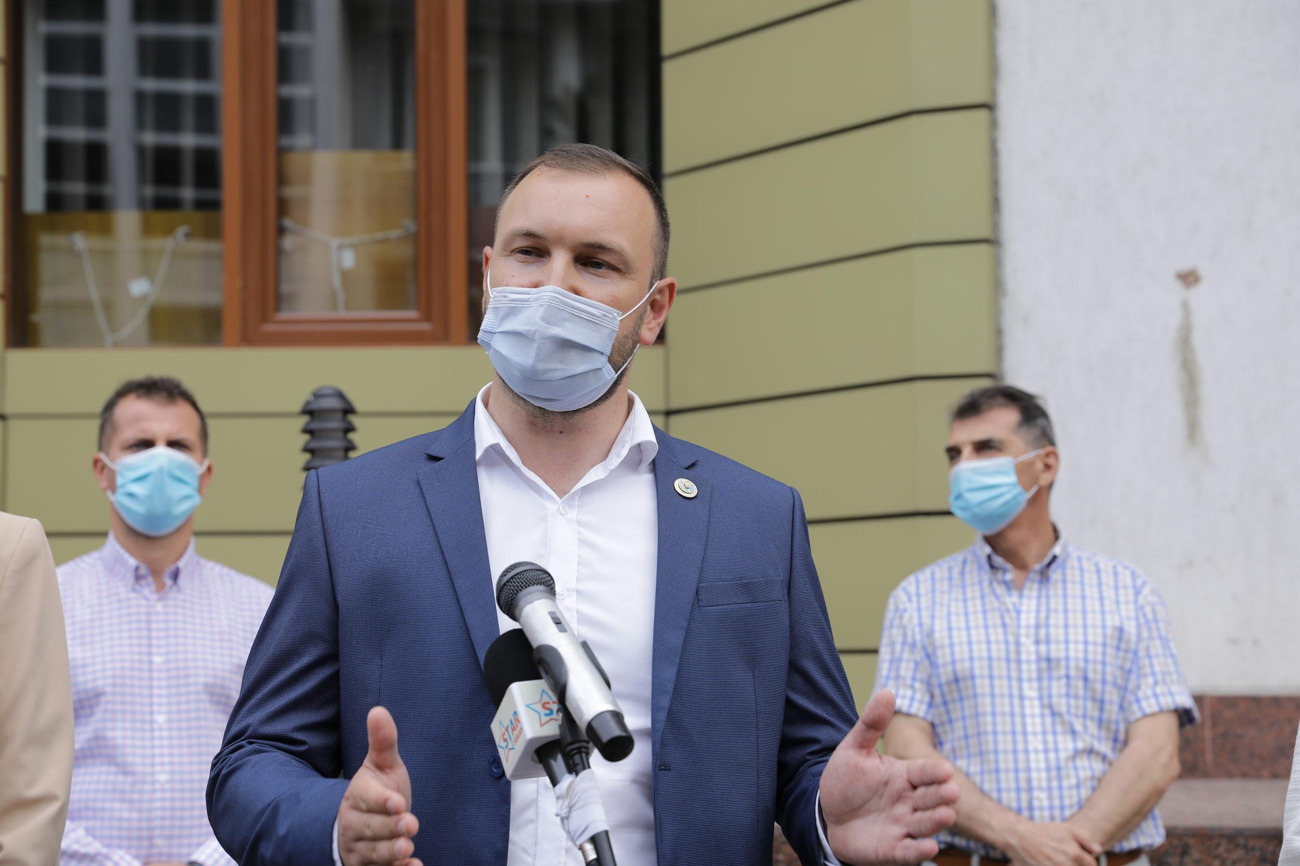 Adrian Bibu a fost ales Președinte al Organizației Municipale PNL Sibiu