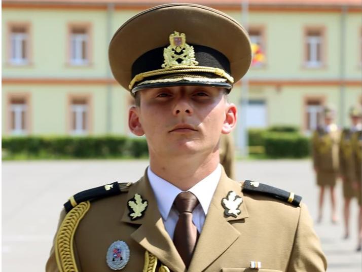 Carlos-Andrei Leahu, unul dintre studenții cu care se mândrește AFT Sibiu