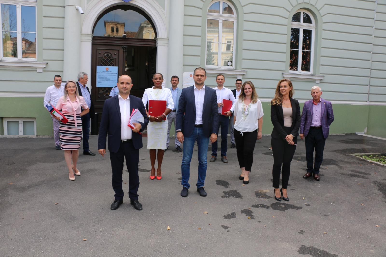 PSD Sibiu și-a înregistrat candidații pentru Consiliul Județean și pentru Primăria Sibiu