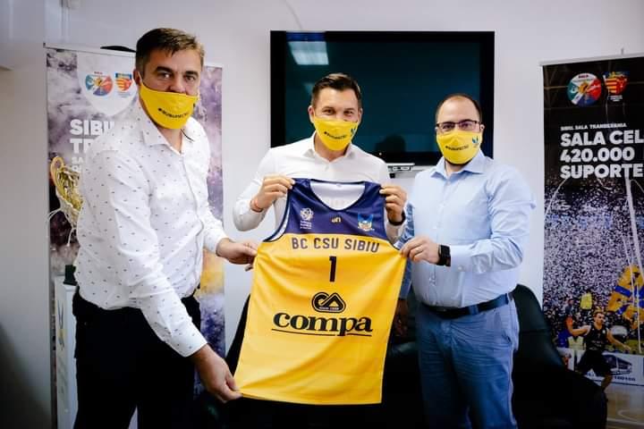 Conducerea BC CSU Sibiu s-a întâlnit cu Ministrul Tineretului și Sportului, Ionuț Stroe