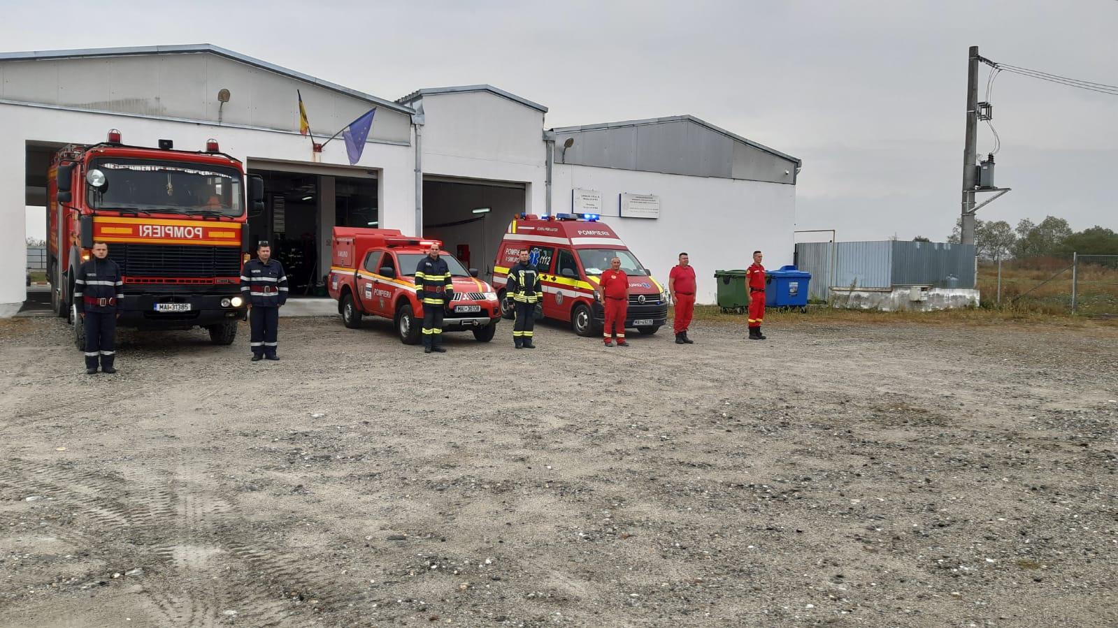 Un autoturism s-a făcut scrum între Cârtișoara și Bâlea Lac