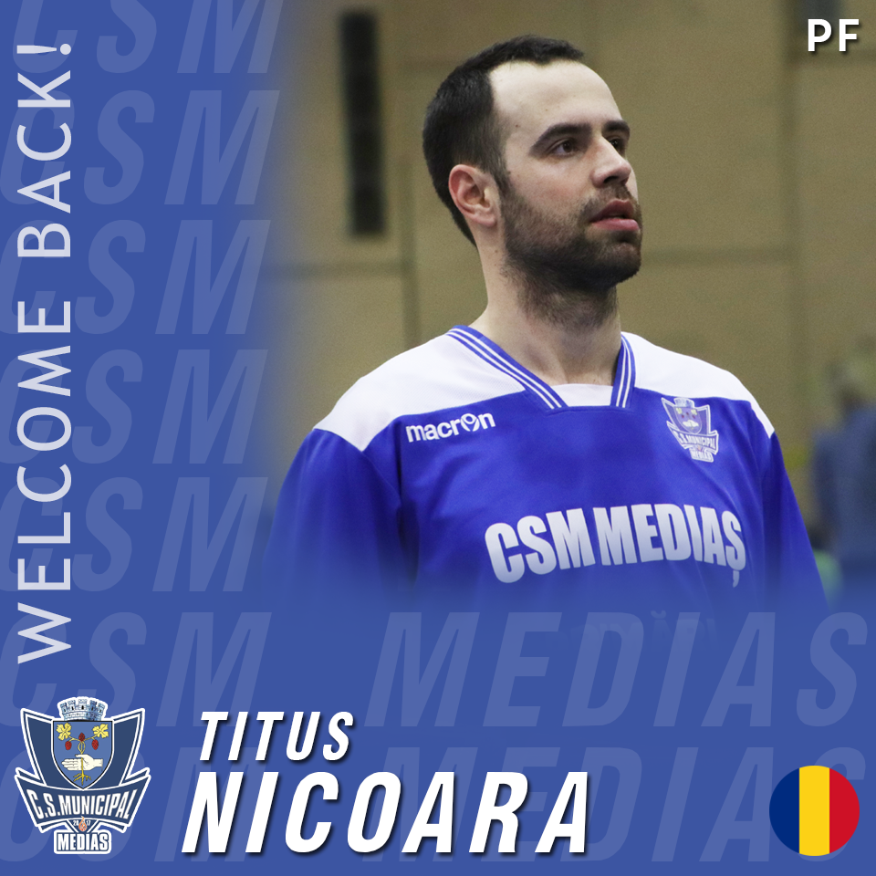 Titus Nicoară rămâne la CSM Mediaș