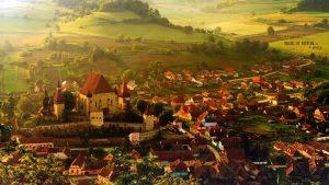 Foto | Biertan, satul din Sibiu care arată ca din filmele Disney
