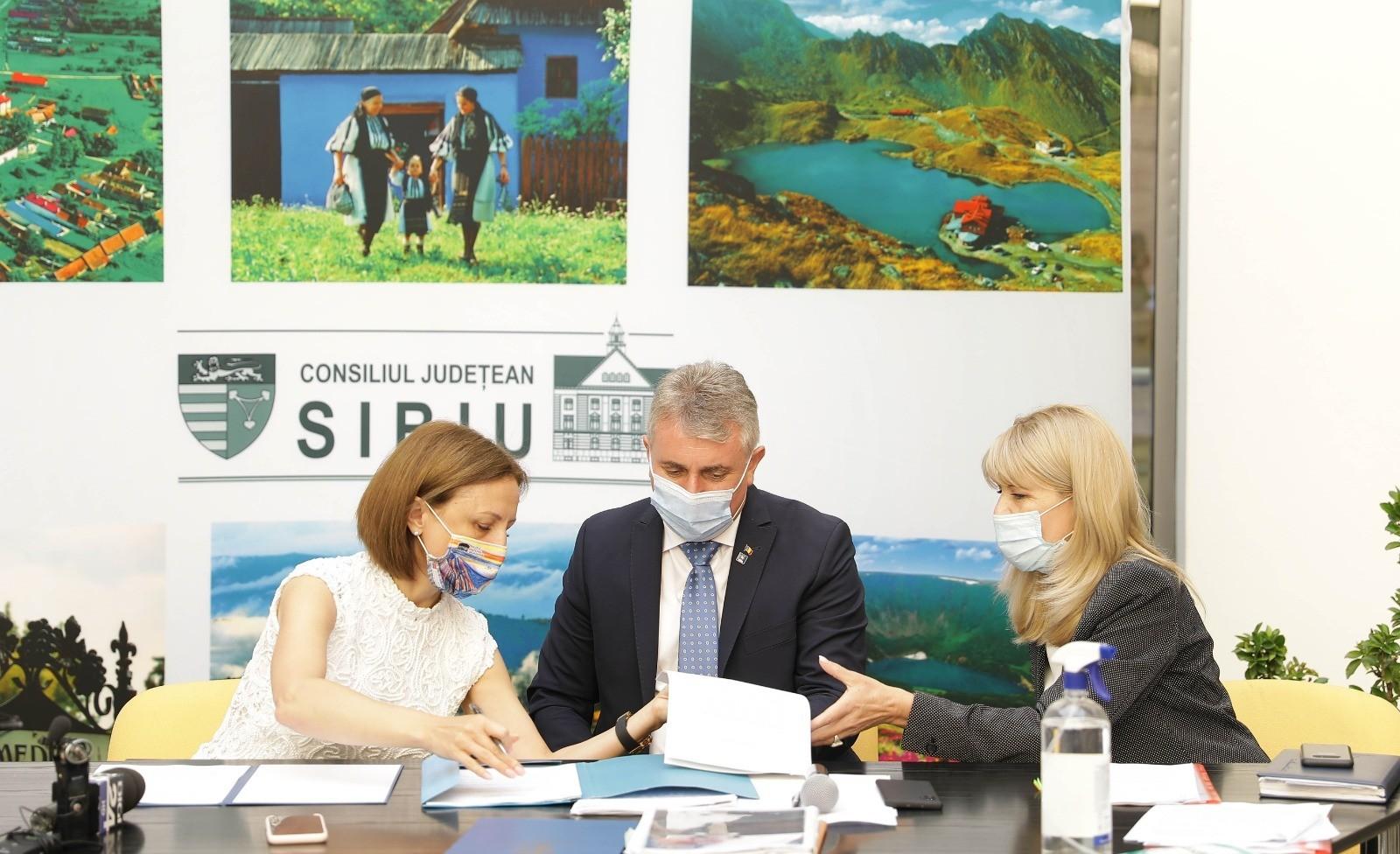 Proiectele Varianta Ocolitoare Sibiu Sud și Centura Mediașului intră în linie dreaptă