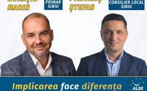 Ștefan Picioruș, candidatul ALDE la Consiliul Local Sibiu: Votați echipa tânără și profesionistă formată de Horațiu Marin pentru orașul nostru (P.E.)